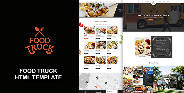 Food Truck - Food Truck And Restaurant Responsive HTML Template - Restaurants & Cafes Entertainment
