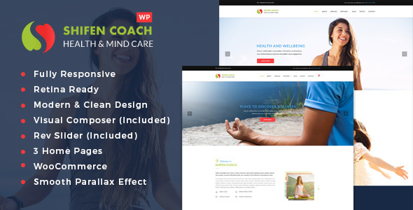 Shifen Coach - Personal Development Coach WordPress Theme - Health & Beauty Retail