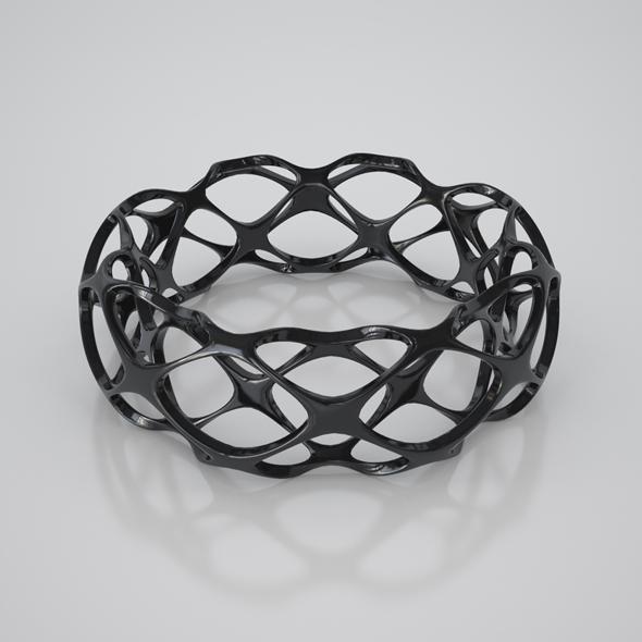 Twisted Bracelet - 3DOcean Item for Sale