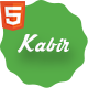 Personal vCard Template - Kabir - ThemeForest Item for Sale