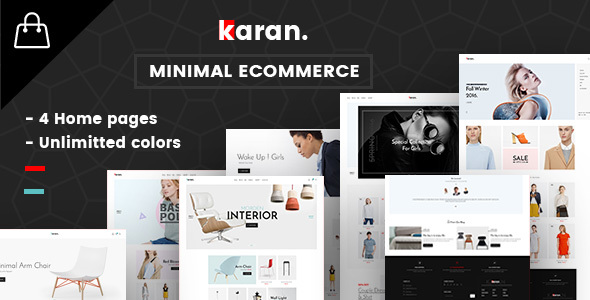 Karan – Minimal Fashion Responsive WordPress Theme