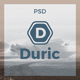 Duric - One Page PSD Template - ThemeForest Item for Sale