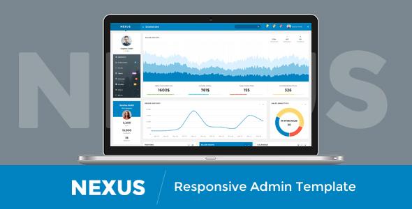 Nexus – Responsive Admin Template