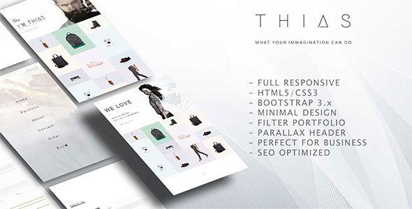 Thias – Minimal Multi-Purpose Modern Portfolio