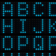 3D dot-matrix font - GraphicRiver Item for Sale