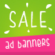 Fresh Sale Ad Banners - GraphicRiver Item for Sale