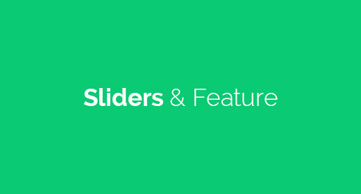 Sliders & Feature