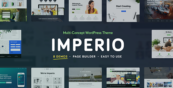 Imperio - Business, E-Commerce, Portfolio & Photography WordPress Theme - Corporate WordPress