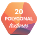 20 Low-Poly Polygonal Background Textures #4 - GraphicRiver Item for Sale