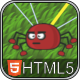 Tangled Spiders - HTML5 Phaser Puzzle Game - CodeCanyon Item for Sale