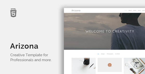Arizona – Creative Portfolio Template