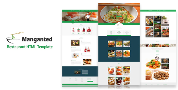 Manganted – Clean Restaurant HTML Template