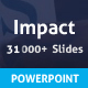 Impact Powerpoint Presentation Template - GraphicRiver Item for Sale