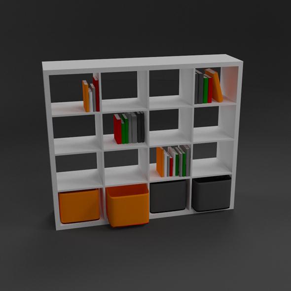 Shelf - 3DOcean Item for Sale
