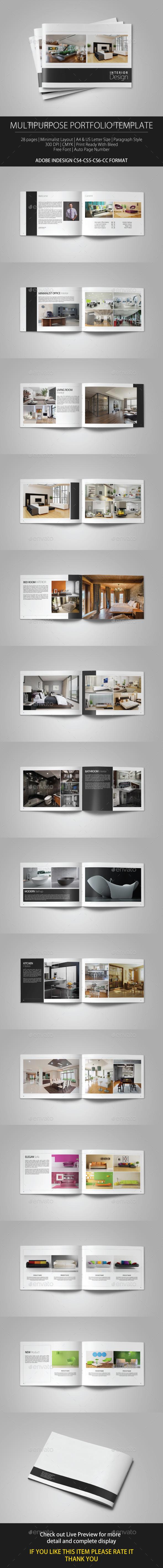 Multipurpose Portfolio Template - Portfolio Brochures