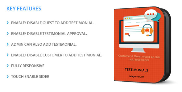 Magento 2 Testimonial - CodeCanyon Item for Sale