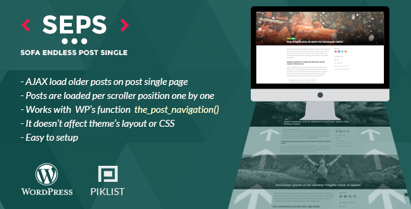 SOFA Endless Post Single - auto-load older posts for post single page - CodeCanyon Item for Sale