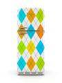 Retro fridge isolated on white background 3D rendering - PhotoDune Item for Sale