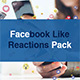 Facebook Like Reactions Pack - VideoHive Item for Sale