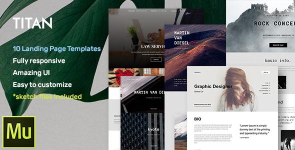 Hotel -  Adobe Muse CC Responsive Template + Gallery Widget
