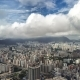 Aerial View Skyscrapers Of Hong Kong City - VideoHive Item for Sale