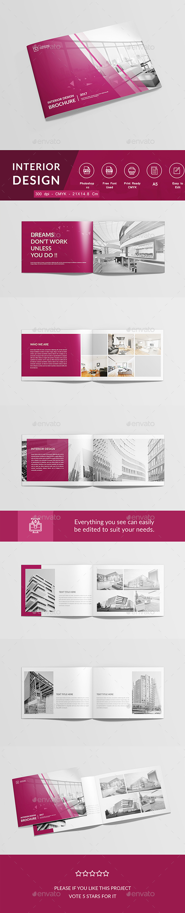 Interior Design - Corporate Brochures
