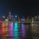 Hong Kong Victoria Harbour Skyline At Night.   - August 2016, Hong Kong - VideoHive Item for Sale
