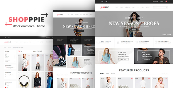 Shopppie – WooCommerce WordPress Theme