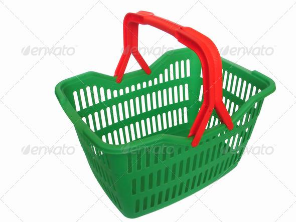 shopping cart - Stock Photo - Images