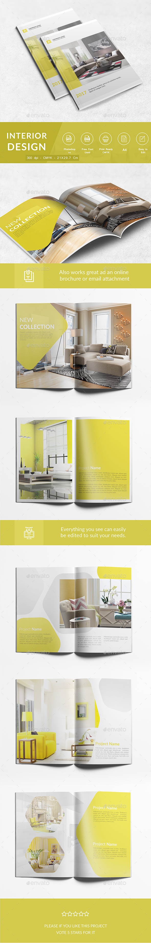 Interior Design A4 - Corporate Brochures