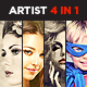 Artist 4 in 1 Bundle CS3+ - GraphicRiver Item for Sale