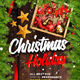 Christmas Holiday Flyer - GraphicRiver Item for Sale