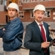 Foremen Are Showing a Thumb At The Construction - VideoHive Item for Sale