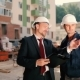 Man Explain The Worker How To Work At Construction - VideoHive Item for Sale