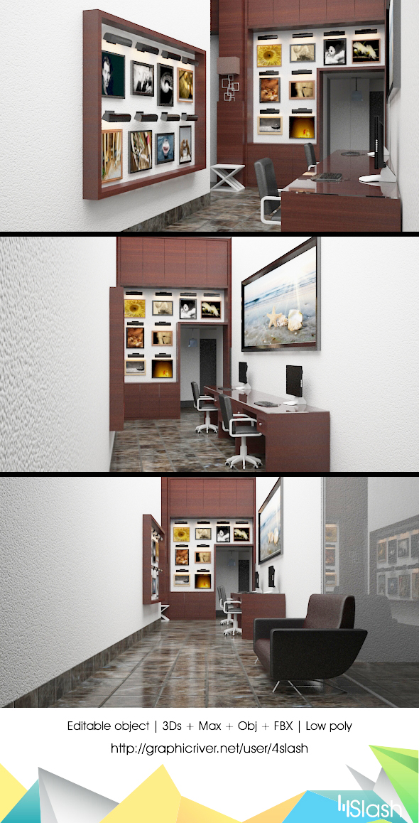 3d Photography Studio - 3DOcean Item for Sale