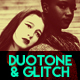 Duotone & Glitch Template
