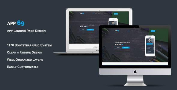 App 69 – App Landing Page