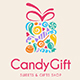 Candy Gift Logo - GraphicRiver Item for Sale