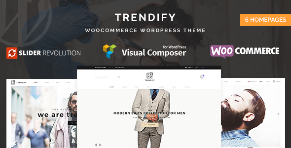 Trendify – Fashion eCommerce WordPress Theme