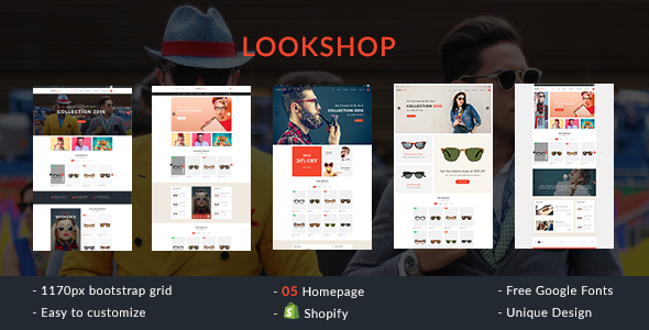 Lookshop – Shopify Responsive Theme