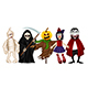 Characters for Halloween - GraphicRiver Item for Sale
