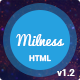 Milness - Showcase Mobile App HTML Template Nulled