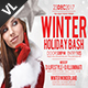 Winter Holiday Bash V01 - GraphicRiver Item for Sale