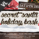 Secret Santa Holiday Bash V02 - GraphicRiver Item for Sale