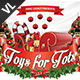 Toys 4 Tots / Toy Drive V02 - GraphicRiver Item for Sale