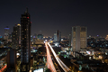 Night illuminated Bangkok, Thailand - PhotoDune Item for Sale