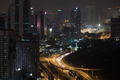 Night transport traffic in Kuala Lumpur, Malaysia - PhotoDune Item for Sale