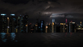 Night Kuala Lumpur, view from rooftop pool - PhotoDune Item for Sale