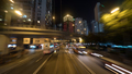 Night Hong Kong cityscape with transport traffic on the road - PhotoDune Item for Sale