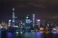 Hong Kong illuminated at night - PhotoDune Item for Sale